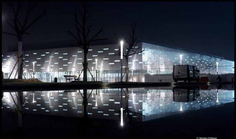 """DIMENSIONAMENTO ENERGETICO """"PALAHOKEY"""" (progetto arch. Arata Isozaki) a Torino"""