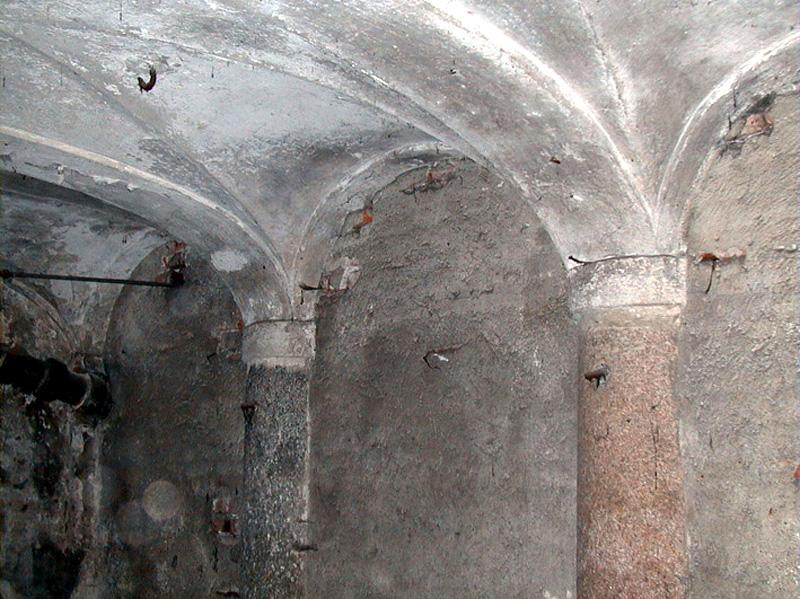 RESTAURO E RECUPERO PALAZZO NAPOLEONICO del 1700 (progetto arch. Caccia Dominioni - prof. ing. Migliacci) a Milano