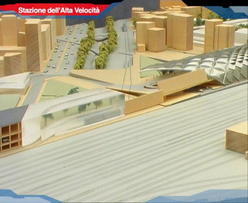 DIMENSIONAMENTO ENERGETICO STAZIONE ALTA VELOCITA' (Progetto arch. Norman Foster) a Firenze